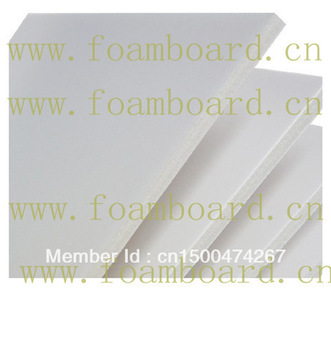Poster displaying foam board 3mm A4 white   40pcs/pack