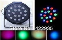 3W*18 High Power RGB LEDPar Stage Light Wedd Lighting DJ Lighting DMX512 Master-Slave Stand-Alone Free Shipping