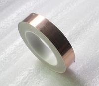 Free Shipping 10MM X 30M Conductive Copper Foil Tape Gold Copper Foil Adhesive