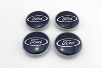 4PCS 63mm Alloy Wheel Center Caps Hub for Ford Fiesta Focus Mondeo Galaxy C-Max