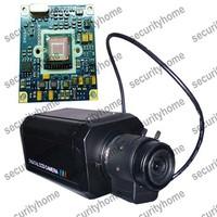 960H 700TVL SONY Effio-P CCD Super WDR Box camera 2.8-12mm Auto IRIS Lens CCTV Camera 3D-DNR