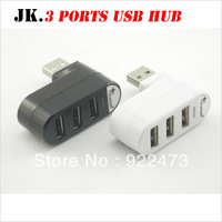 Q001 YXH-20 USB 2.0 High Speed 3 Ports rotatable USB HUB