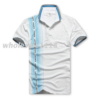 2013 -2014 Newest  fashion summer Men's shirts Short-sleeved for men lovers casual t shirt with crocodile free shipping