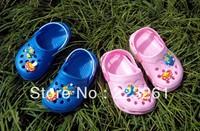 2013 new style children's summer sandals EVA shoes kid's slippers  boys girls cartoon sandals slippers