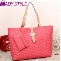 LADY STYLE 2015 Hot Selling Fashion Women Handbag pu Leather Shoulder Bag Brief women Messenger Bags  HL1927