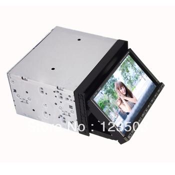 Double Din In Dash Car PC  wifi Surf internet /AUX/GPS/AM/FM /BT/Ipod function/4GB TF card