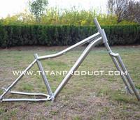 Gade 9 Titanium Fat Bike Frame&Fork 44mm Headtube/Belt Drive/Sliding Dropouts
