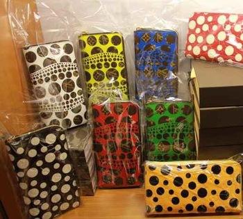 2013 new fashion women dot zipper long wallet monogram designer luxury brand clutch wallet genuine leather handbag free shipping