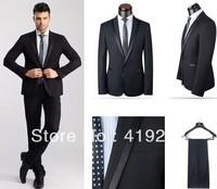 New Arrival Slim Fit Wedding Suits Men's Business One Button Suits Fashion Korean Suits
