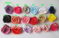 FZ0005 handmade rosette 500pcs 2cm garment/hair jewelry/shoes accessory