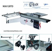 MJ6128TD Woodworking kitchen cabinets sliding table saw