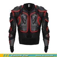 Motocross Motorcycle Full Body Armor Jacket Spine Chest Protection Gear