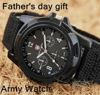 Hot sale Men's Luxury Analog new fashion TRENDY SPORT MILITARY STYLE WRIST WATCH SWISS ARMY quartz watches free shipping