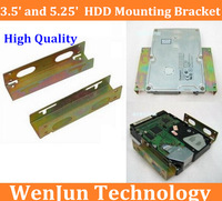"""FreeShipping 20PCS  High Quality  3.5"""" And 5.25"""" Hard Disk Drive HDD Mounting Bracket Best Price for you"""