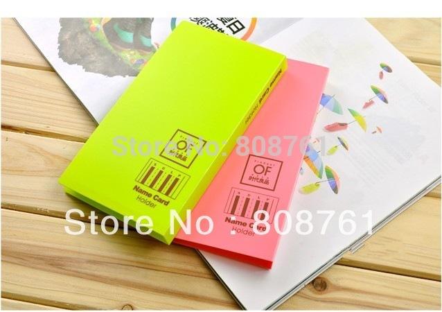 Large Business Card Holder Book Color Business Card Holder
