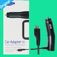 Original Car Charger for Samsung Galaxy S S2 s3 Note i9100 i9220 N7000 N7100 i9300 S5830 Free shipping