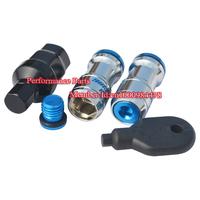 Hot! Wheel Lug Nut Blue Color Lock Nut Wheel Nut M12*P1.5