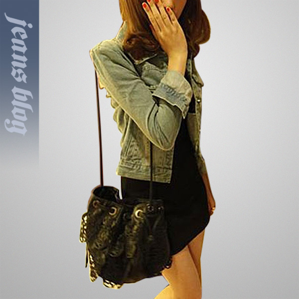 2013 Hot Sale Ladies Fashion Jean Short Coat Vintage Denim Coat Classical Fashion Jean Clothes ALMM315(China (Mainland))