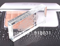 2pcs Eyelash extension tool prevent glue dry crystal holder for eyelash glue container in glass 3D