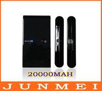 Mobile power supply New 20000MAH power bank 20000mAh Fast delivery With Retail Packag for iPhone/iPad/Mobile Phone