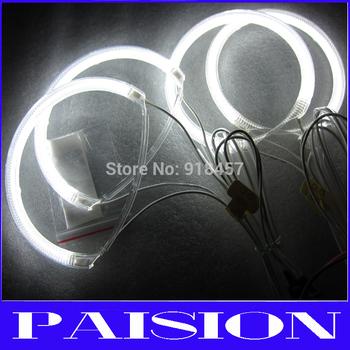 Free Shipping 1 SET  7000K Halo Rings Headlight For Mazda3 CCFL Angel Eyes Kit