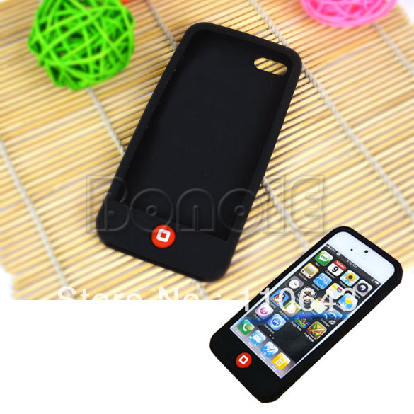 New Signal Protection Shell Silicone Skin Case Cover For IPhone 5 9939 99340 9941 9942 9943(China (Mainland))