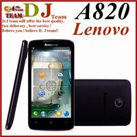 Original Lenovo A820 phone Quad-core CPU 4GB ROM 1GB RAM 8.0M Camera Russia language available