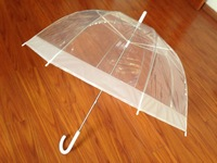 Free Shipping Transparent Clear Automatic Rainy Arch Apollo Umbrella For