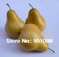 Decorative fruits yellow pear