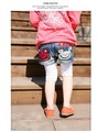 398 Retail 2013 New Summer Super Froggy baby Girls shorts jeans kids shorts pants for 2-6yrs free shipping
