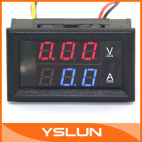 The 2in1 Two-color 100V/100A LED display will indicate actual current and voltage outputs #100016
