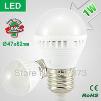 1W  led bulb lamp light bulbs bubble ball bulb Scrub warm white led e27 b22  bulb leds energy saving Spot light lamp