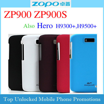 Free shipping 5 colors Smooth matte Protective case for ZOPO zp900 ZP900S hero h9300+ H9500 Frosted scrub hard housing shell