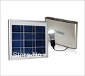 big discount free shipping Solar panel light system kits Battery LED bulb(China (Mainland))