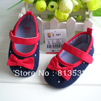 0-1 Year Old Skid- proof Toddler Soft Sole Shoes Baby Shoes Princess Shoes Free Shipping