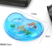 Cute Mouse hand rest wrist support pad Crystal silica gel mouse pad Free shipping