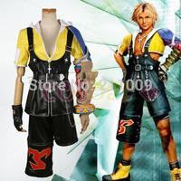 Final Fantasy10  Tidus anime costume cosplay
