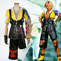 Final Fantasy10  Tidus anime costume cosplay