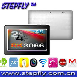 SF-BM707 Free shipping RK3066 dual core dual core 1.6ghz android 4.1 8GB tablet pc 7 inch(China (Mainland))
