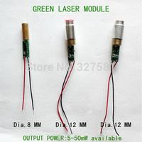 5-50mW 532nm Green laser diode module.