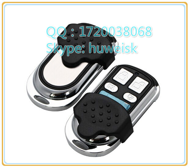 sk-314 metal slider press to press remote control with adjustable frequency and frequency 315mhz or 433mhz Auto key(China (Mainland))