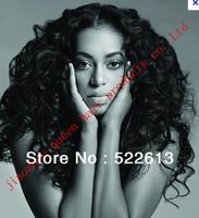 salable  Curl 100% Brazilian human hair Full Lace wig/Fashion wig,  for black women16''-26'' free shipping