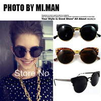 JJ207 Half Frame Cat Eye Design Woman Sunglasses Fashion Woman Glasses