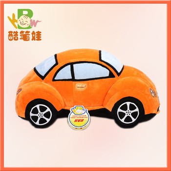 Plush car toy realistic soft toy car stuffed plush toy for boys