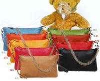 Free shipping Genuine leather  ladies' handbags shoulder messenger bag day clutch bag HHL926
