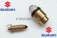 NEW FREE SHIPPING SUZUKI GN250 DR250 DR500 Carburetor FLOAT NEEDLE VALVE WITH SOCKET OEM QUALITY
