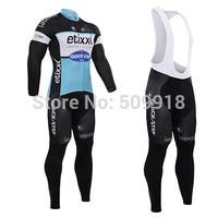 new cycling jersey Long Sleeve & Cycling bib Shorts kits cycling jersey long sleeve and cycling pants black