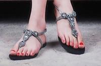 Free shipping  Fashion summer luxury multicolour color block rhinestone cowhide flip sandals women's shoes