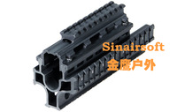 Tactical Yugo M-70 Quad Rail System Mounting /AK47/74  /MNT-HG470A With 6pcs Rubber Covers