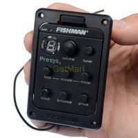 Fishman 201 Presys-201, Fishman PRESYS+ Onboard Guitar Preamp/EQ w/Tuner, Sonicore Undersaddle Pickup